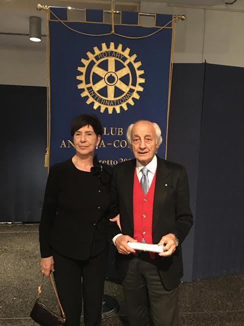 Il presidente Paolo Pauri