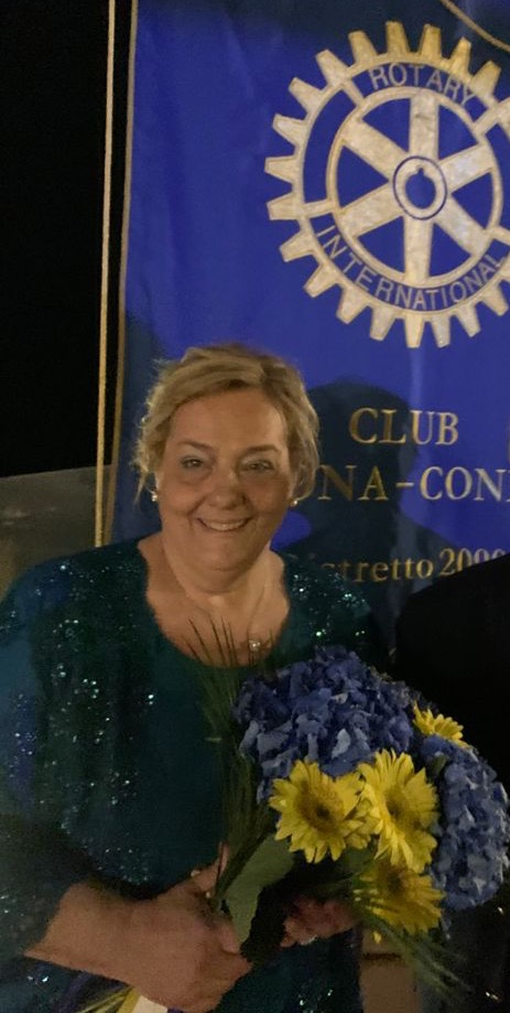 La presidente Donatella Amodio